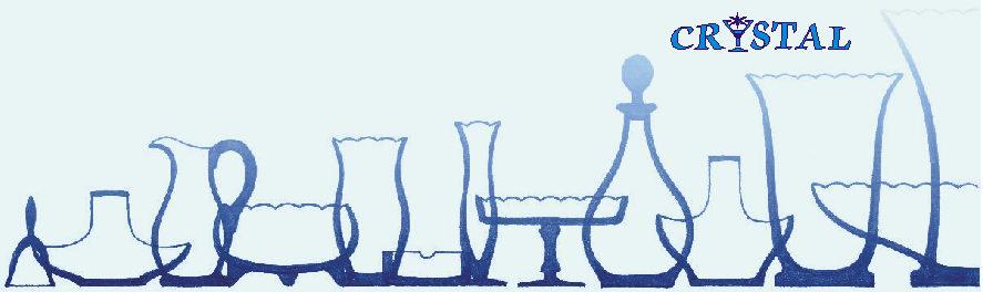 tvary skla -vázy - mísy - džbány
